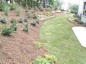 landscape for a sloped yard uneven yard ideas
