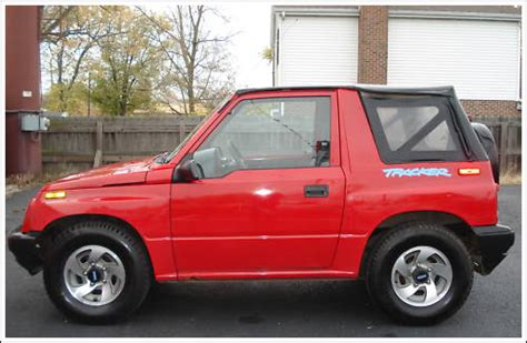chevy tracker 1995 geo tracker geo parts autos weblog