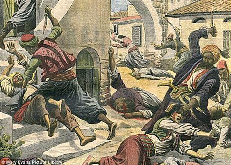ottoman massacres turkeys genocide against the christian armenians were