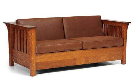 Recliner Sofa Beds by Mission Oak Sofa Sold Arts Crafts Mission Oak Antique 1905