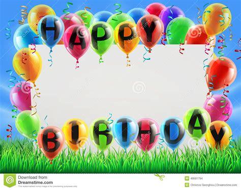 happy birthday sign stock vector image