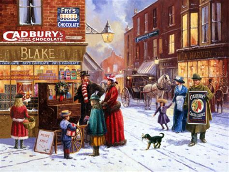 wooden jigsaw puzzle london christmas