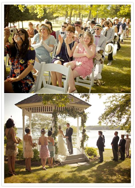 a great gatsby 20 s inspired wedding shannon ed real weddings 100 layer cake