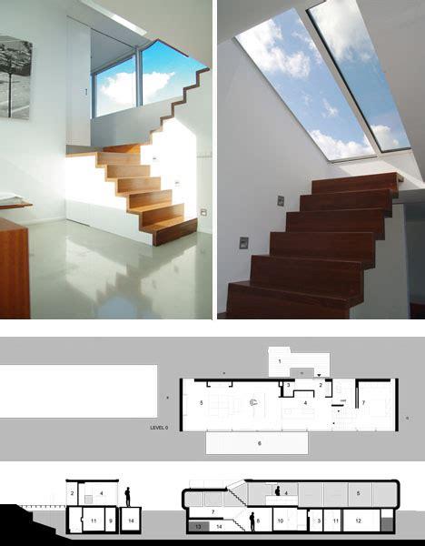 Split Level House Floor Plans split level houseboat half sits on surface half underwater