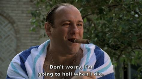 The Sopranos Meme - just because your partner has cheated on you it doesn t