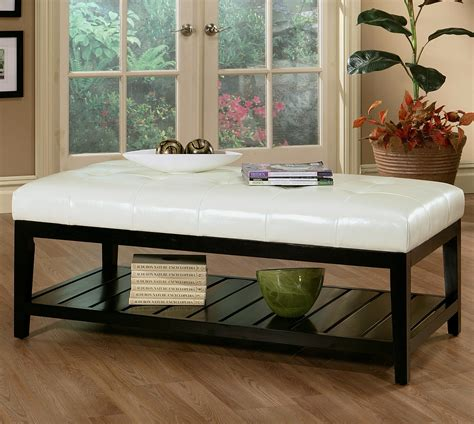 ottoman as coffee table furniture oversized ottoman coffee table for stylish