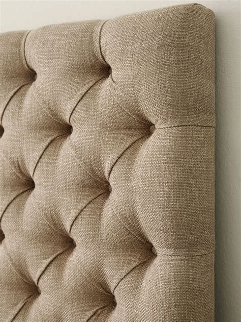 Upholstered Headboard With Buttons by 17 Ideas About Upholstered Headboards On