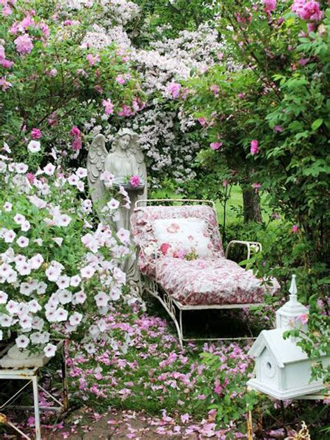 Cottage Garden Decor 17 Shabby Chic Garden For Feel House Design And Decor