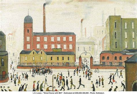 Daylight Ls For Artists by L S Lowry The Automat
