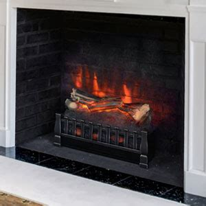 duraflame 20 inch electric fireplace insert log set