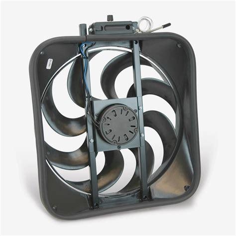 flex a lite electric fan kit flex a lite 160 black magic electric fan ebay