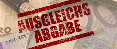 Antrag Briefwahl Bremen 2015 Die Ausgleichsabgabe
