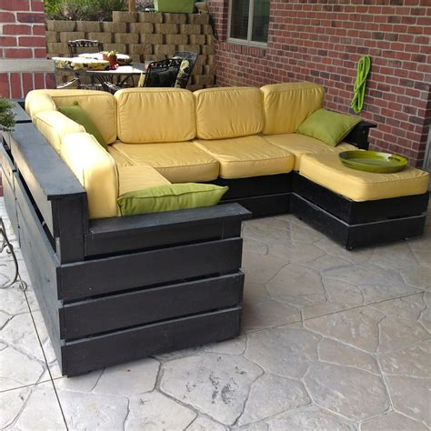 diy outdoor sofa diy why spend more diy outdoor sectional