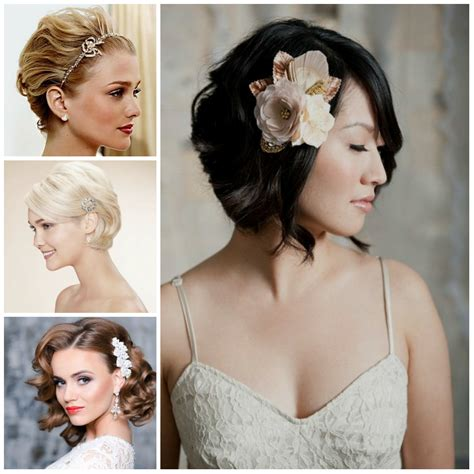 Wedding Hairstyles For Bobbed Hair by Bridal Hairstyles For Bobbed Hair Trend Hairstyle And