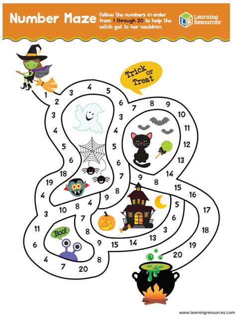 printable number maze number maze printable learning resources blog