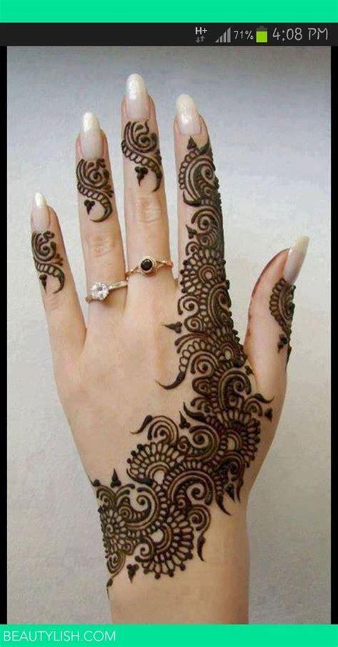 henna tattoo hand weiß lovely mehendi design for the gorgeous smart henna