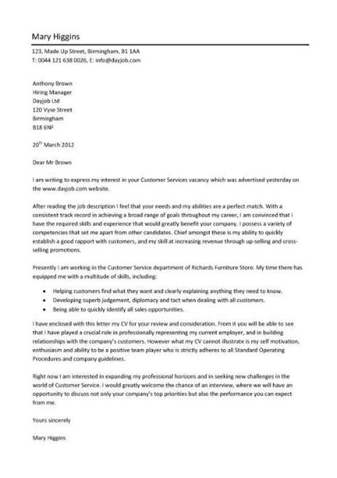 cover letter for customer service a professionally written and designed customer service 1153