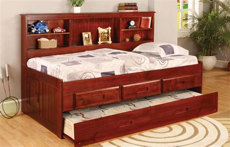 trundle bed with desk 187 10 best daybed bookcases with storage drawers for your