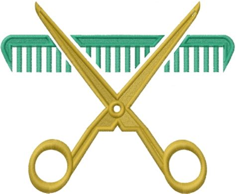 barber shop embroidery designs machine embroidery designs occupational embroidery design barber scissors from