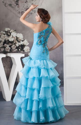 cornflower blue sexy party dress long spring gorgeous