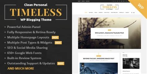 timeless themes exles 8 best wordpress themes for journalists 2016 designinstance