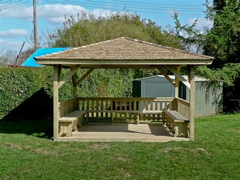 square gazebo timber shelter 4m square gazebo home ideas