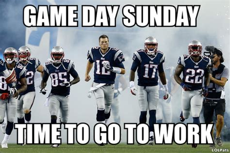 Game Day Meme - game day patriots