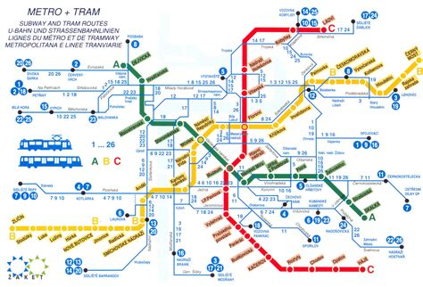 prague map the best transport in europe foreigners cz