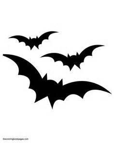 Pumpkin stencils free printable three bats flying bat pumpkin