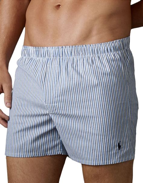 boxers for polo ralph 2 pack slim fit stretch woven cotton