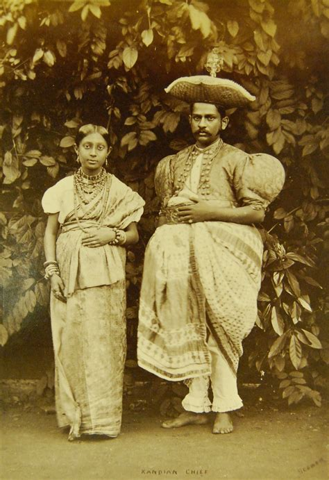 70th century hairstyle local style kandyan aristocrat s dress of the 19th century