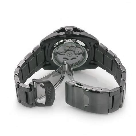 Seiko Automatic Snh029 Black Stainless Steel Original seiko 5 snzj11 automatic black stainless steel