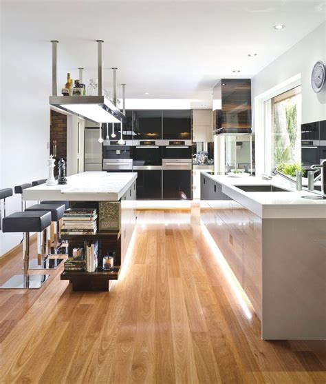contemporary kitchen remodel 20 gorgeous exles of wood laminate flooring for your