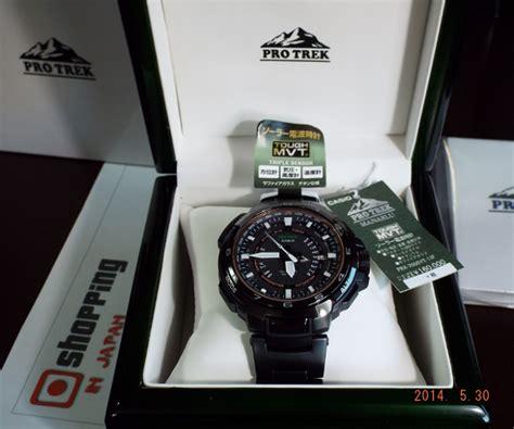 casio protrek prx 7000yt 1jf black titan manaslu shopping in japan net