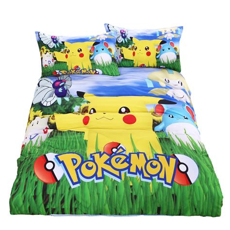 pokemon bedding pokemon duvet cover reviews online shopping pokemon