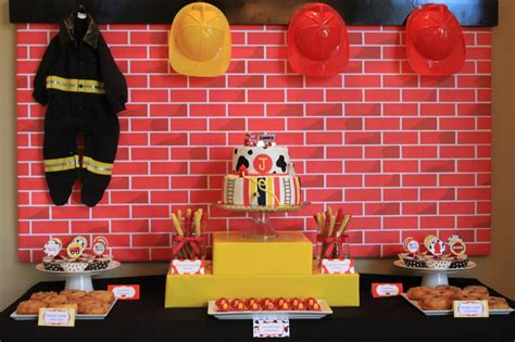 Firefighter Baby Shower by Real Fireman Baby Shower Firemen Fireman Baby
