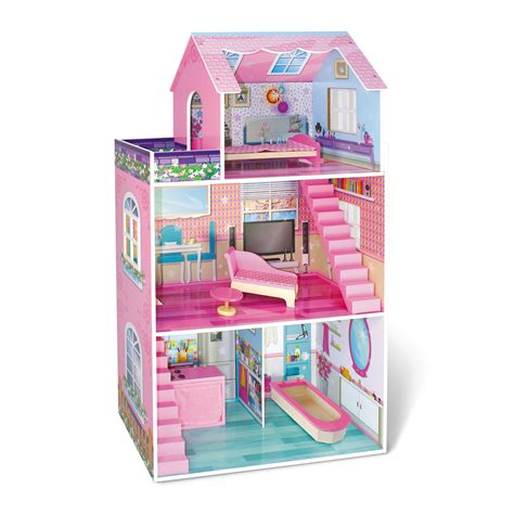 dollhouse 2 year just kidz just dreamz traditional wooden dollhouse