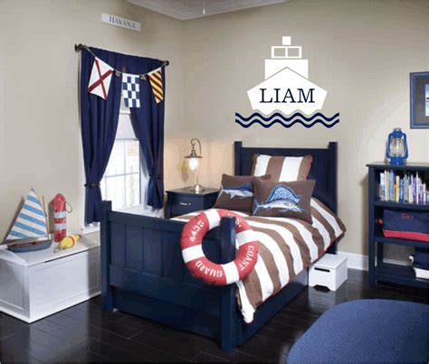 personalized boat name decals nautical vinyl wall decal personalized name wall decals