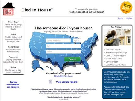 How To Find Out If Someone Died In Your House by Want To Who Died In Your Home Check This Site