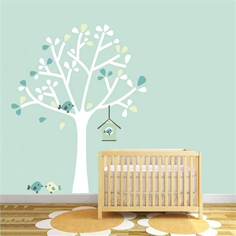 tree silhouette wall sticker silhouette tree fabric wall sticker by littleprints notonthehighstreet