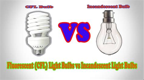 Difference Between Incandescent Led And Cfl Light Bulbs Difference Between Led And Incandescent Light Bulb