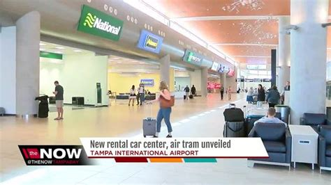 rental car center skyconnect air tram unveiled