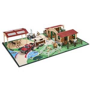 schleich teppich schleich spieleteppich farm 42138 bei spar toys