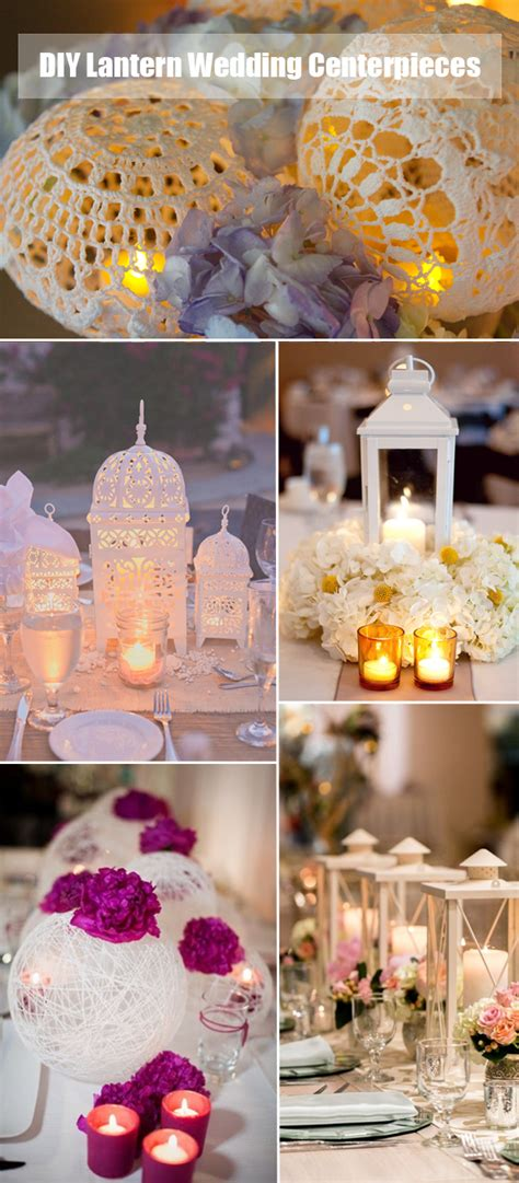 Handmade Table Decorations For Weddings - 40 diy wedding centerpieces ideas for your reception