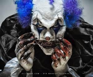 Sfx Makeup Classes Nightmare Clown Sfx Makeup Tutorial All