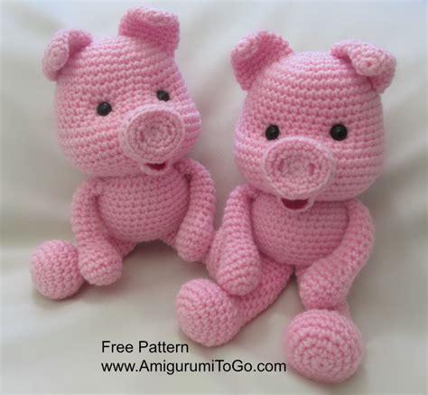 amigurumi pig crochet along pig amigurumi to go