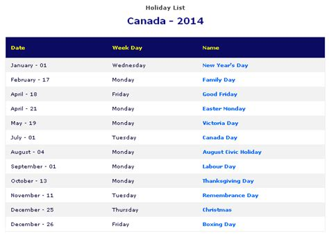 printable monthly calendar canada 2014 printable 2014 canada holiday calendar free printable