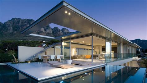 minimalist view home in south africa idesignarch