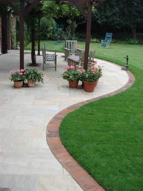 Patio Designs India The 25 Best Ideas About Brick Garden Edging On
