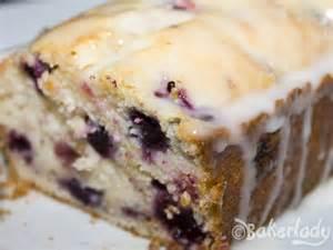 double glazed lemon blueberry pound cake bakerlady